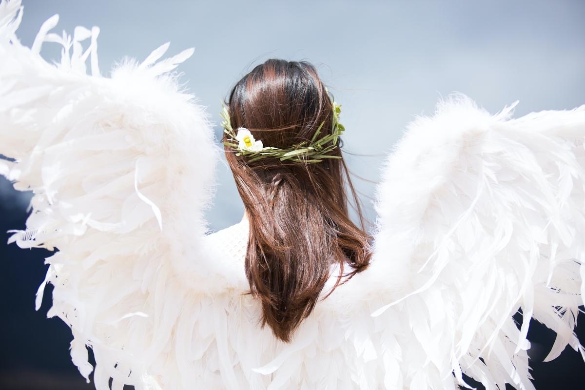 "<img src=""angel.jpg"" alt=""羽を生やした天使の後ろ姿"">"