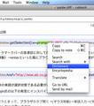 Opera - Search via context menu