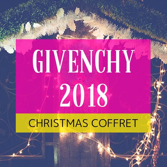 ジバンシィ 2018クリスマスコフレ