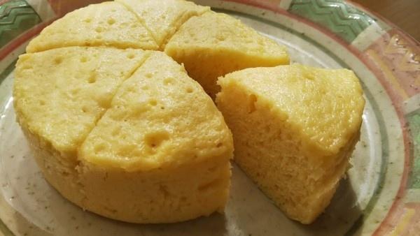 パン 蒸し で ケーキ ホット ミックス