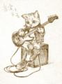 音楽とネコ