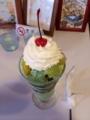 小樽アイスクリームパーラー美園さん(抹茶パフェ)
