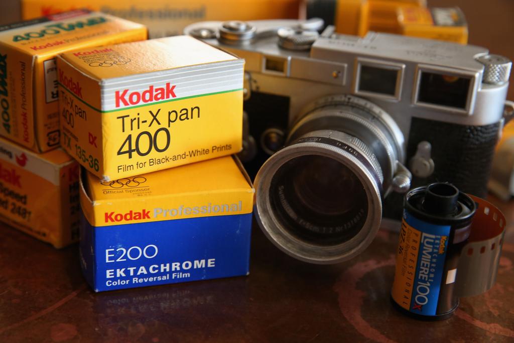 アメリカの有名写真フィルムメーカーのイーストマン・コダック