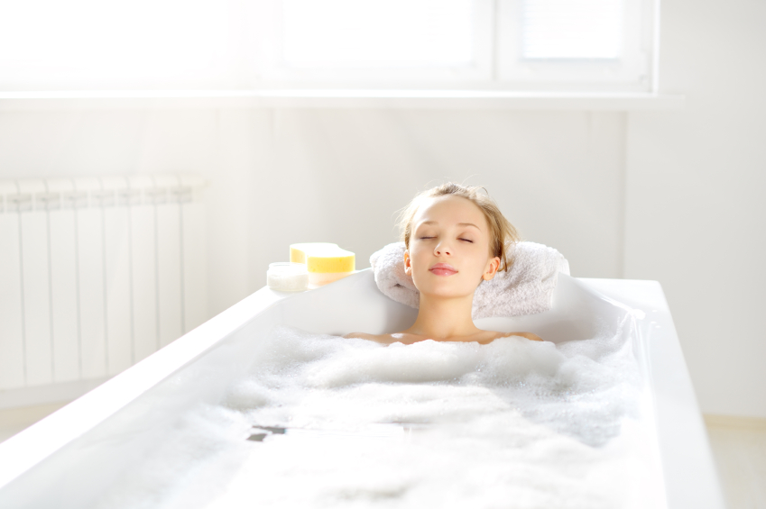 快適な睡眠のためのお風呂タイム