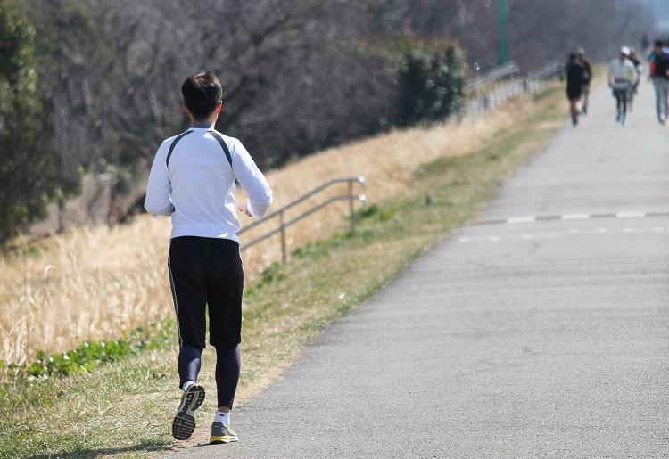 ダイエットのためにジョギング