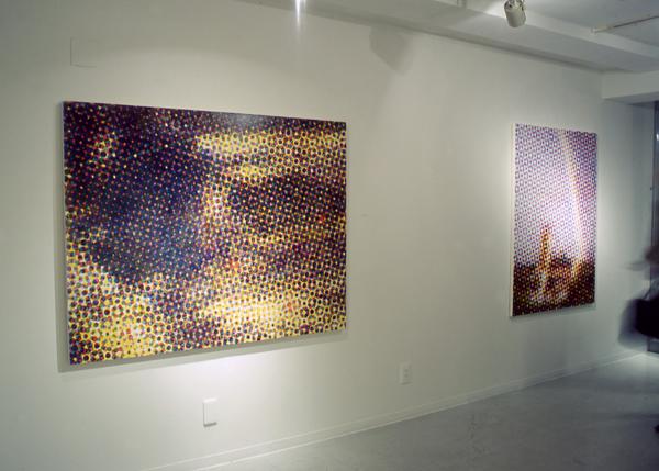 2001年ギャラリーエス個展