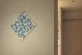 "Painting by Fuminao Suenaga@""House in HIYOSHI""by Hiroyuki Tanaka"