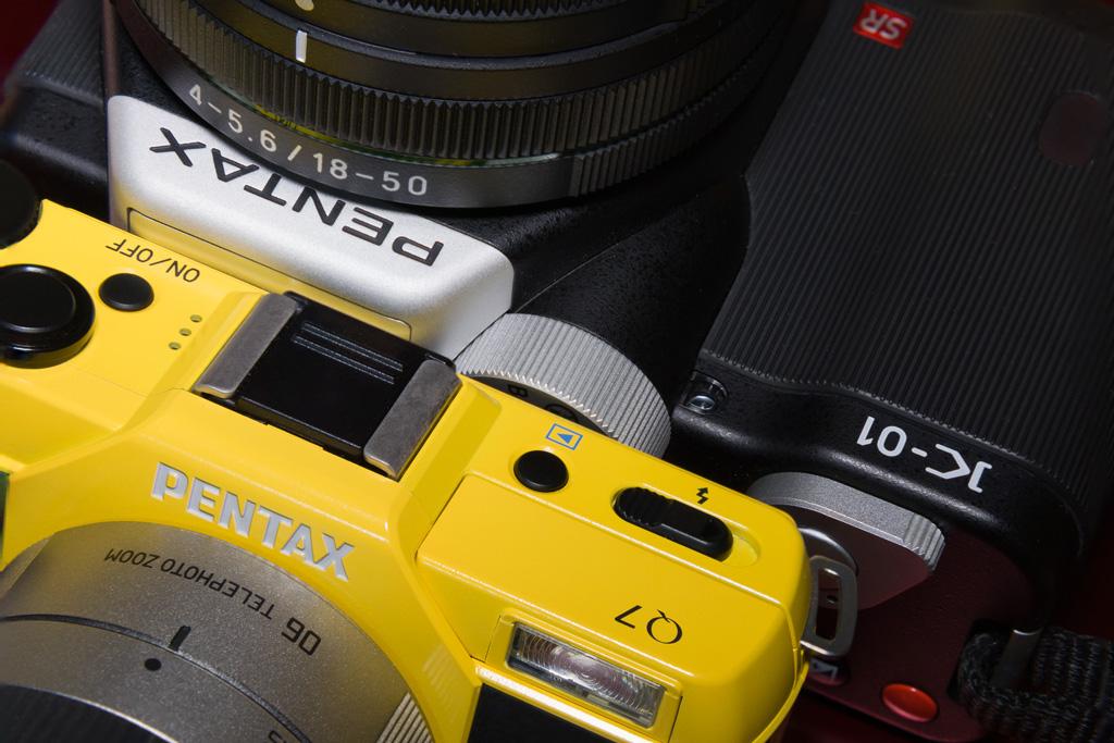PENTAX Q10 and PENTAX K-01