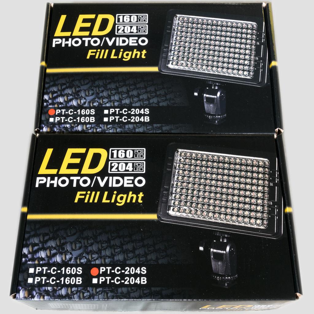 UTEBIT LEDビデオライトパッケージ