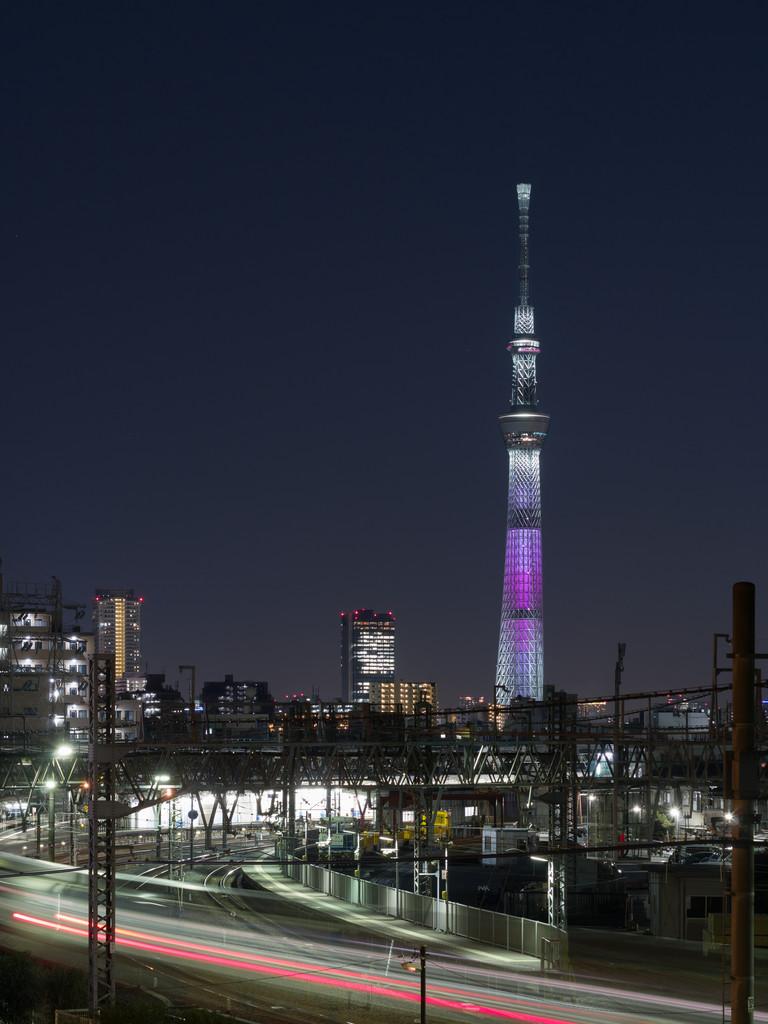 東京スカイツリーと東武スカイツリーライン