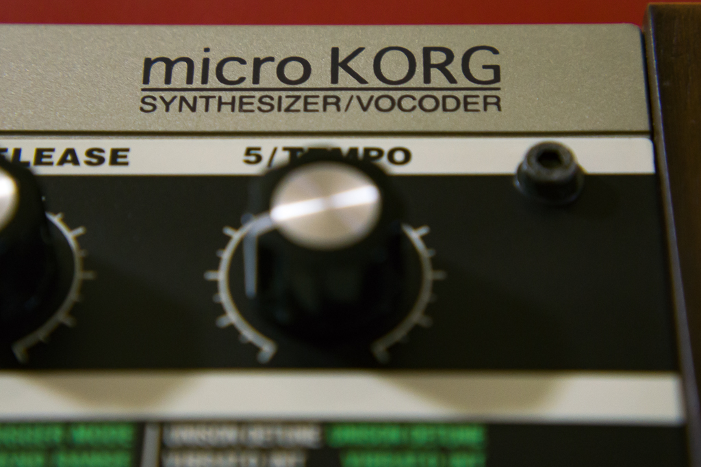 microKORG logo