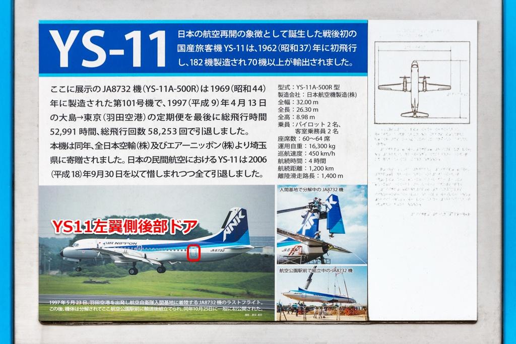YS-11左側