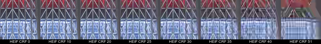 HEIF encoded images (cropped)
