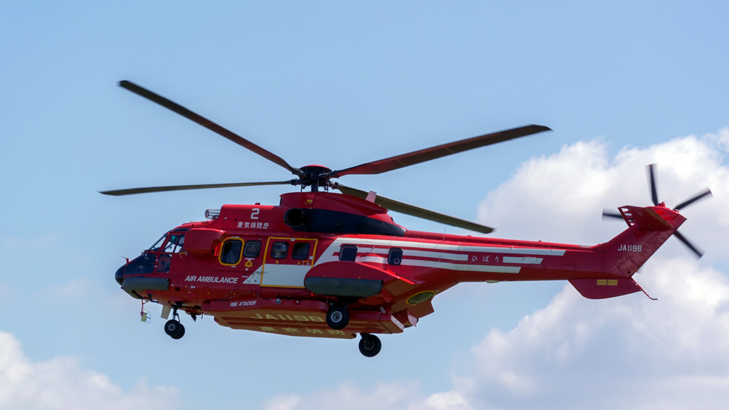 AS332L1 deployed to Tokyo Fire Dept