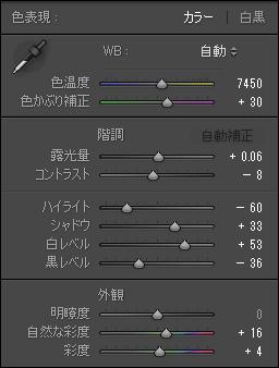 Image sample D parameters
