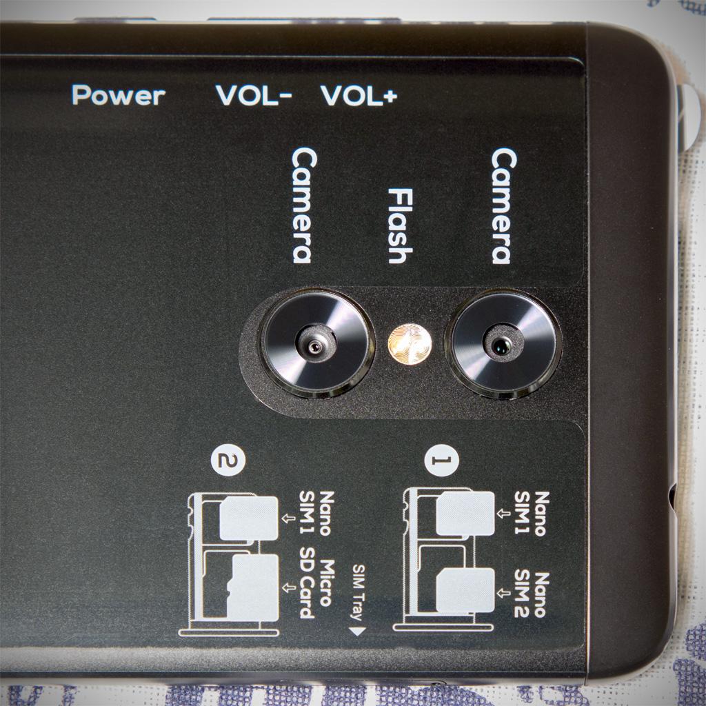 FRONTIER PHONE FR7101AK dual camera