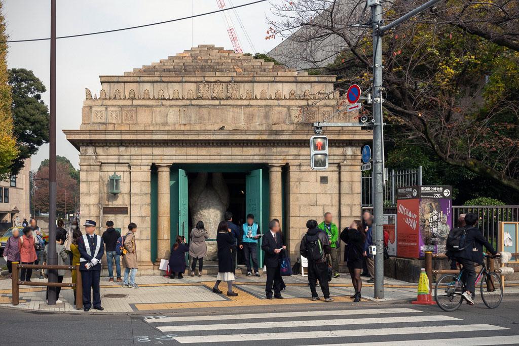 一般公開中の旧「博物館動物園駅」