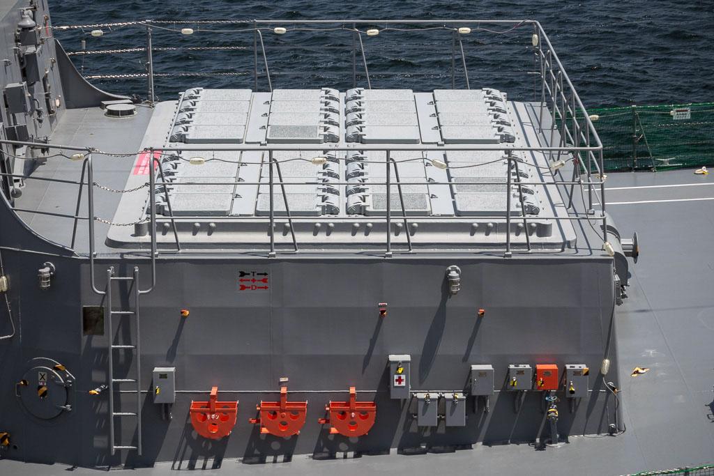 海上自衛隊護衛艦たかなみ(DD-110)のVLS