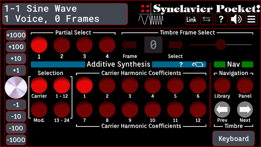 Additive Synthesis 1 w/o keyboard UI