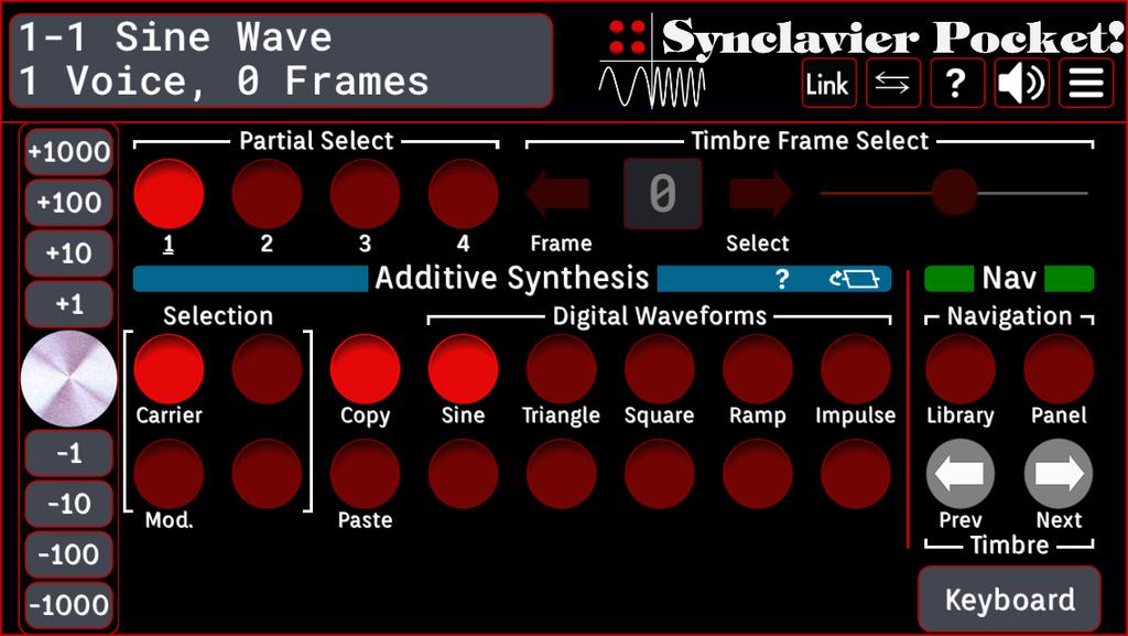 Additive Synthesis 2 w/o keyboard UI