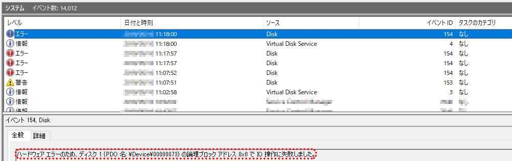 Windowsイベントログ