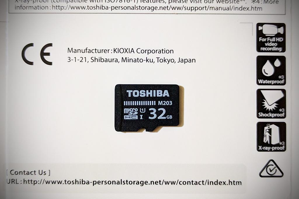 KIOXIA THN-M203K0320A4 micro SDHC card