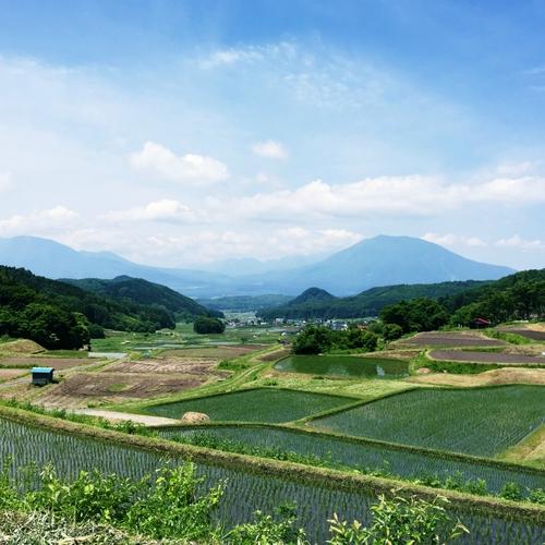 信濃町の風景