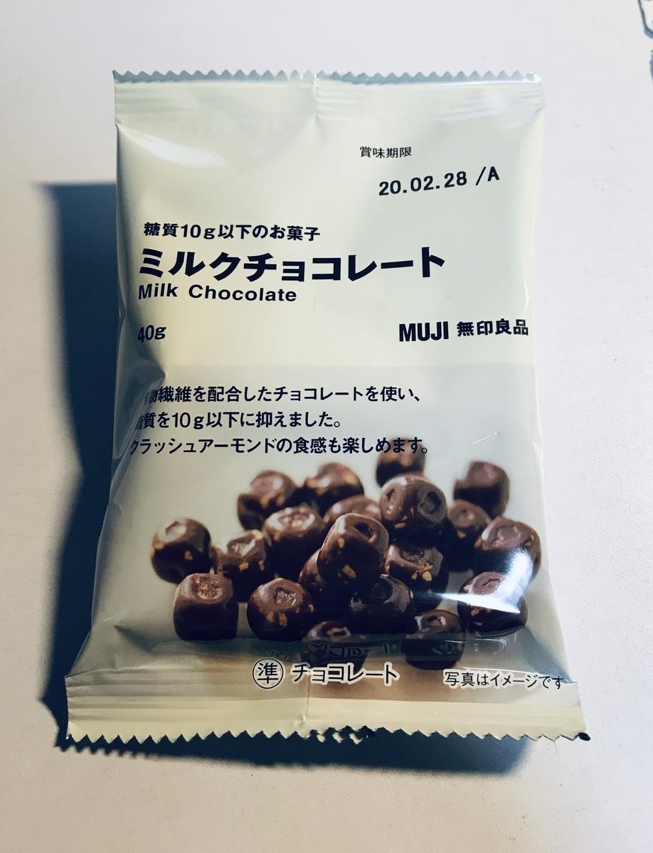 無印良品 ミルクチョコレート