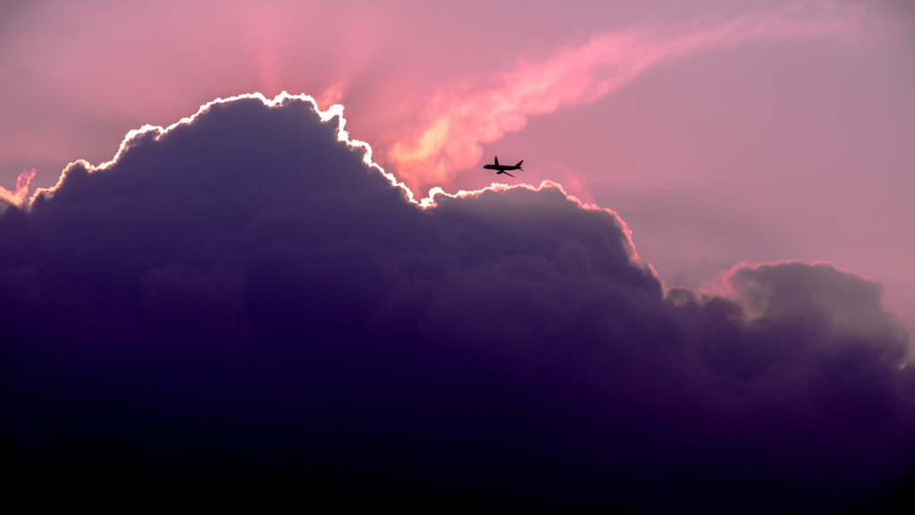 飛行機エアポケット
