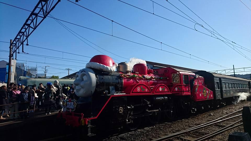 大井川鉄道ジェームスクリスマス