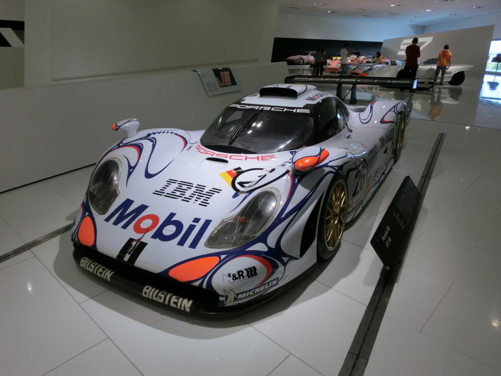 ポルシェ博物館911GT1