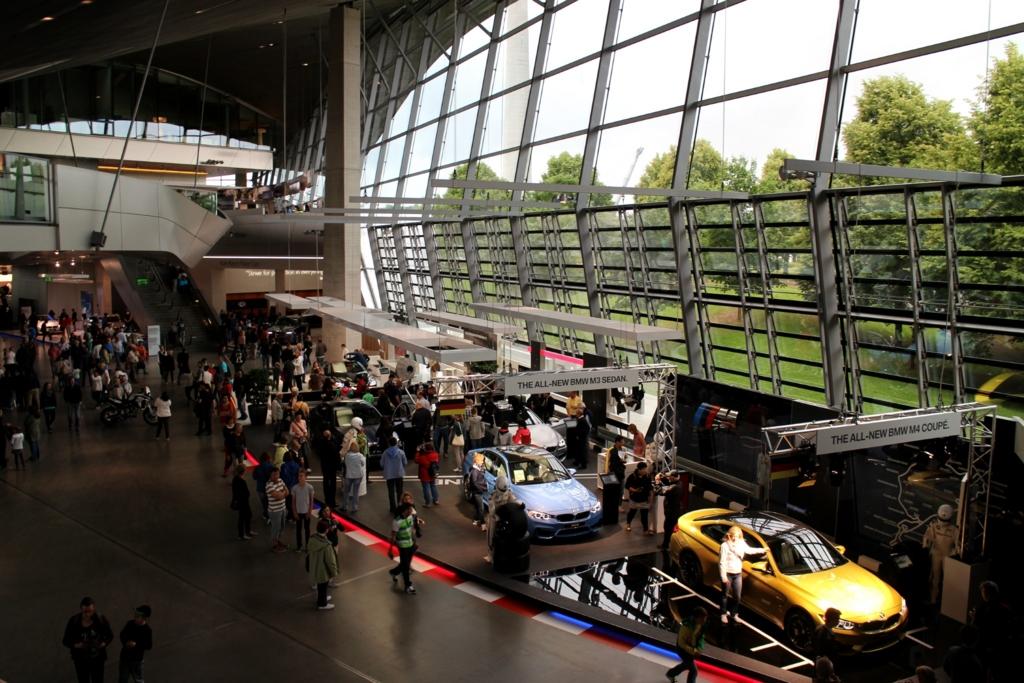 BMWミュージアム_ミュンヘン_行き方
