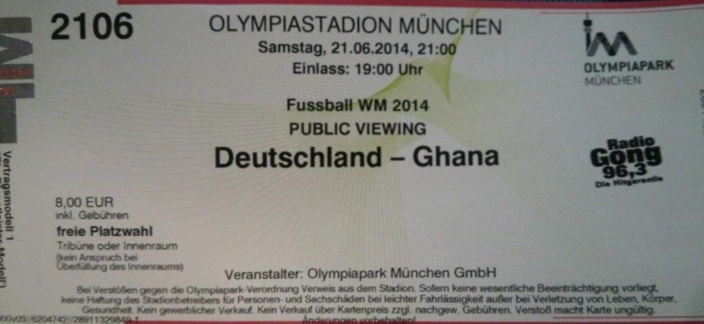 ドイツワールドカップガーナ戦