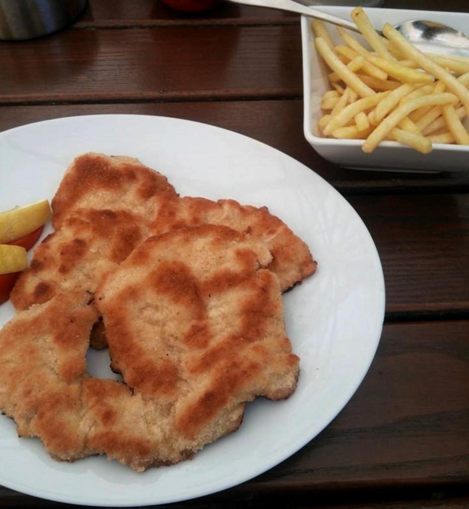 ドイツおすすめ料理シュニッツェル
