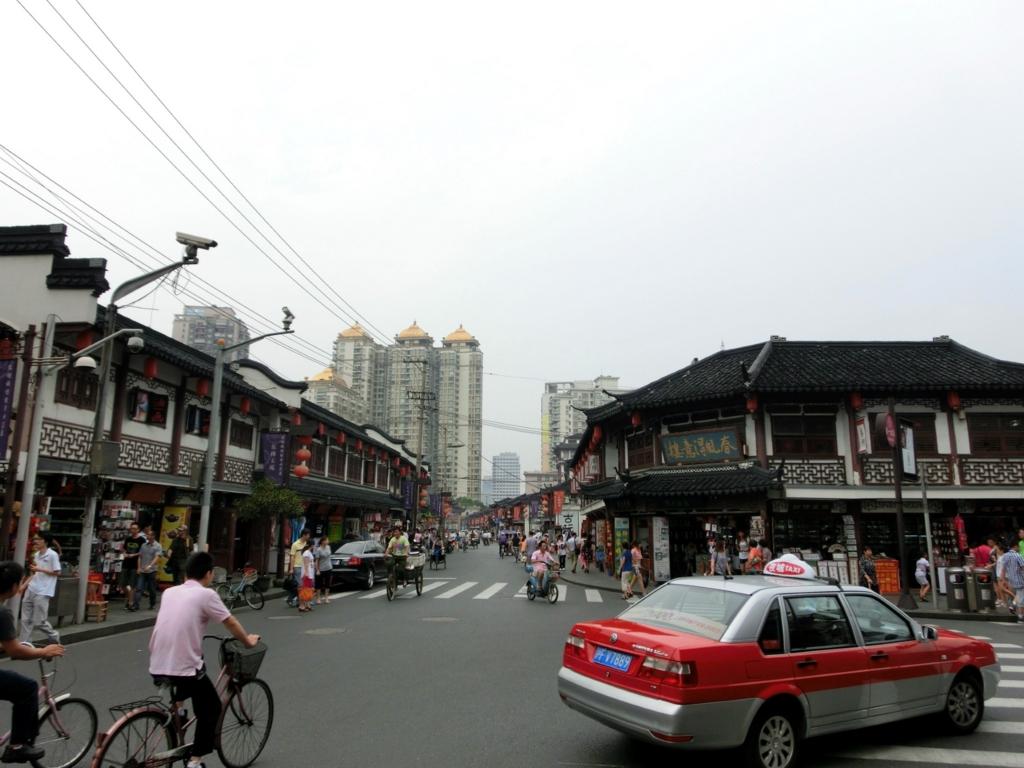 上海豫園ショッピング