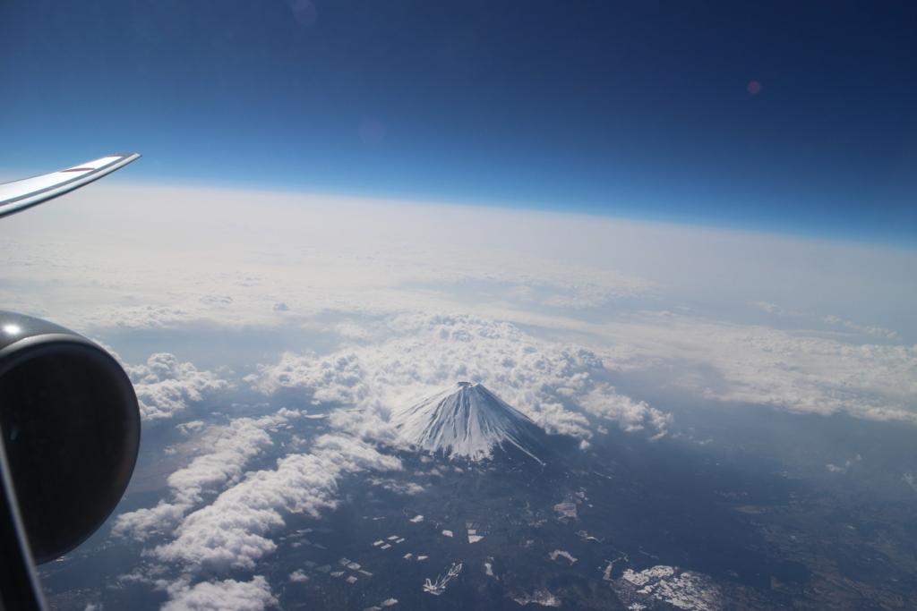 飛行機富士山n
