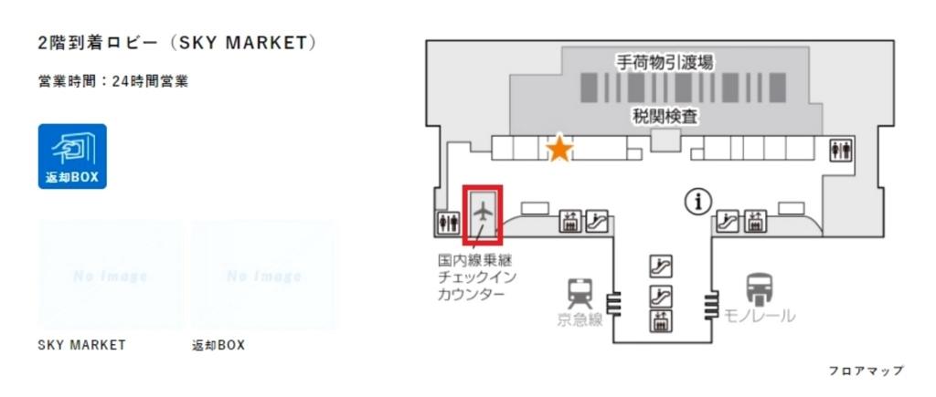 イモトのWiFi羽田空港返却場所