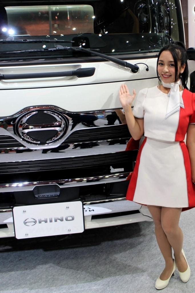 東京モーターショー2017日野自動車コンパニオンさん_藤咲百合香