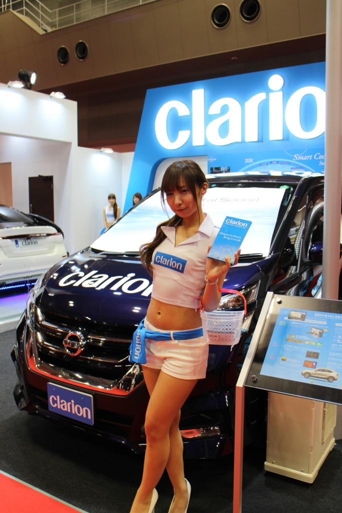 東京モーターショー2017クラリオン_コンパニオンさん_キャンギャル2