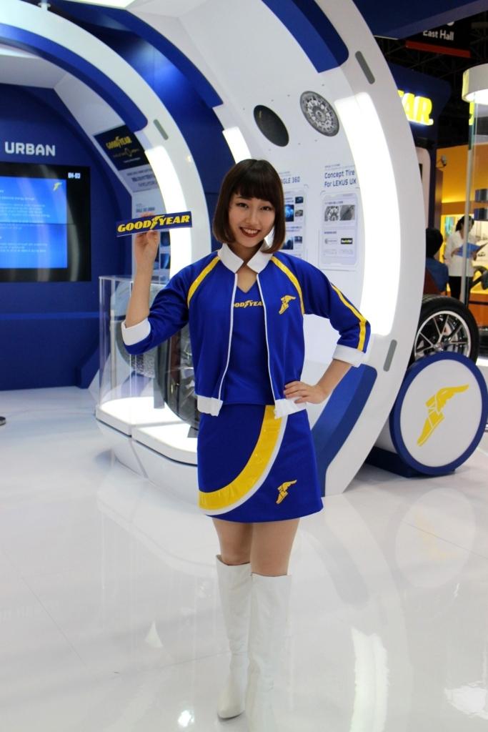 東京モーターショー2017goodyear_グッドイヤー_コンパニオンさん_キャンギャル