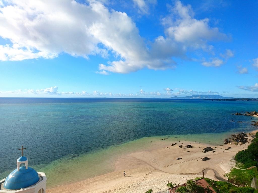 リザンシーパークホテル海側景色