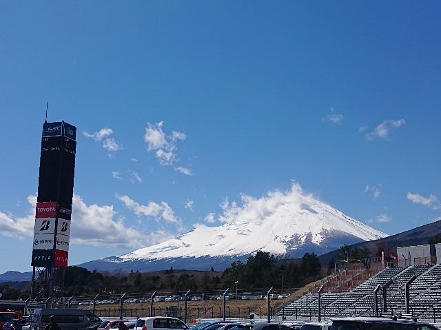 富士スピードウェイからの富士山