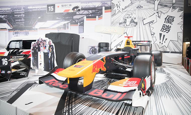 F1カーの画像です。