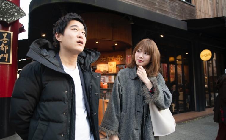 指原莉乃似の女の子と横浜中華街でデート