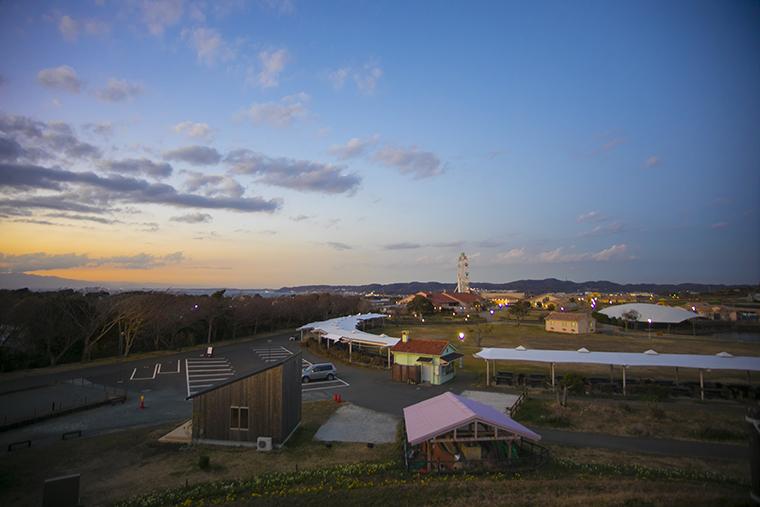 神奈川県横須賀市にあるソレイユの丘のイメージ