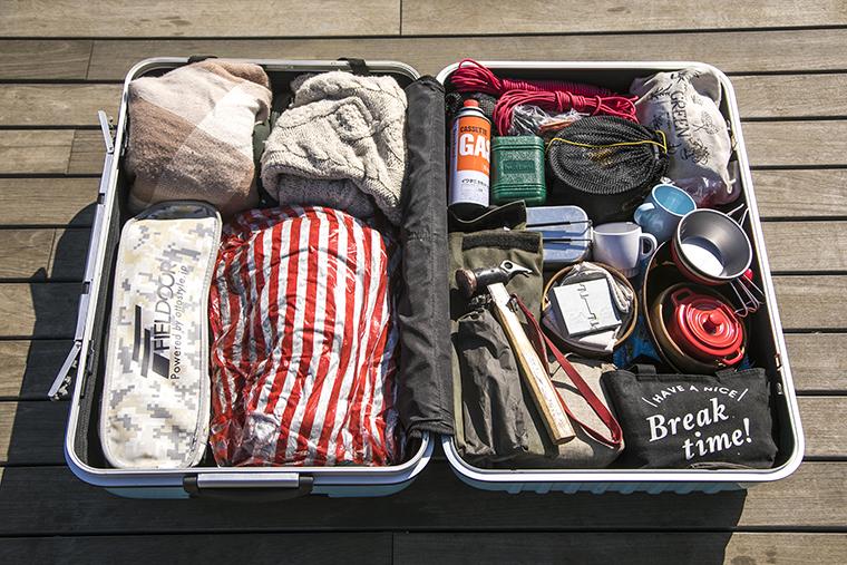 マイさんのスーツケース