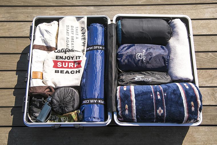 ROSAさんのスーツケース