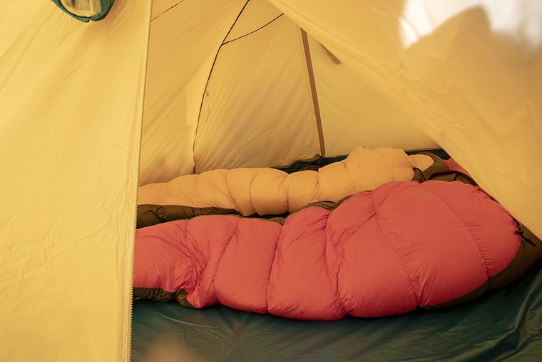 テント内部のイメージ