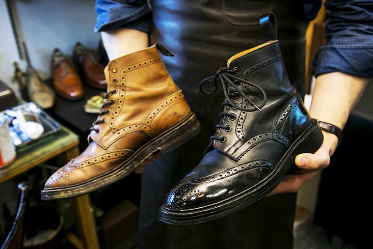 リフォーム工房SARTOの靴職人