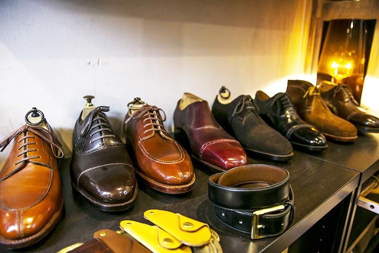 ビスポーク靴職人が修理、オーダー、リメイクした手がける靴・革製品